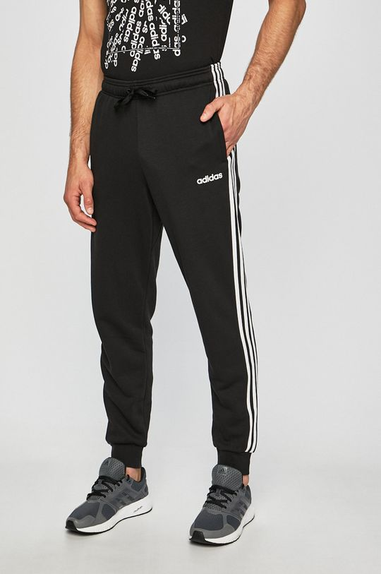 czarny adidas Performance - Spodnie Męski