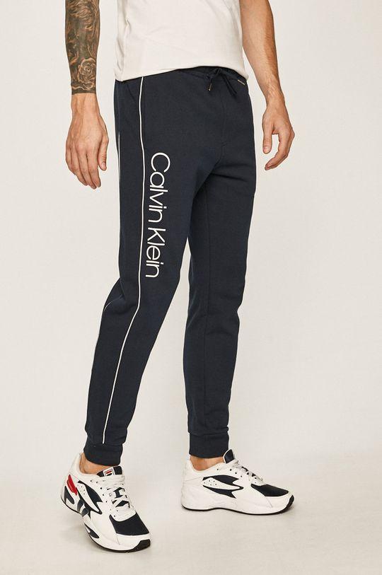 fialová Calvin Klein - Kalhoty Pánský