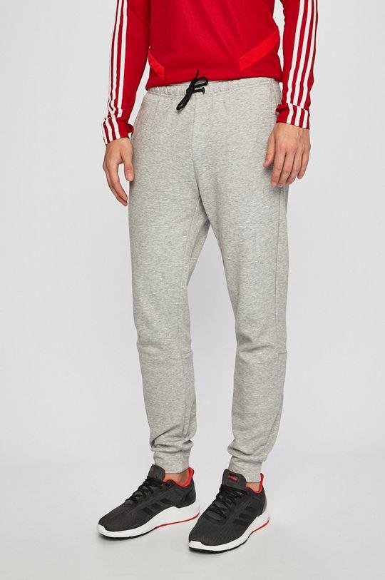 světle šedá adidas Performance - Sportovní kalhoty Pánský