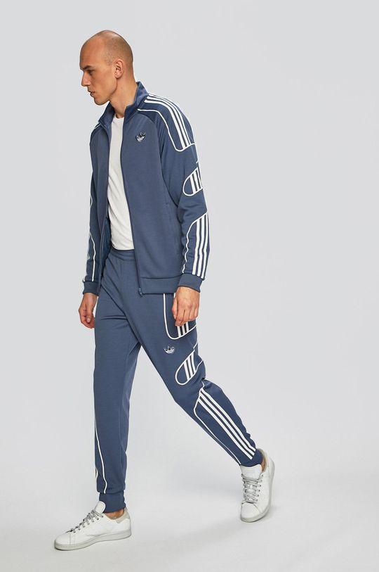 albastru metalizat adidas Originals - Pantaloni De bărbați