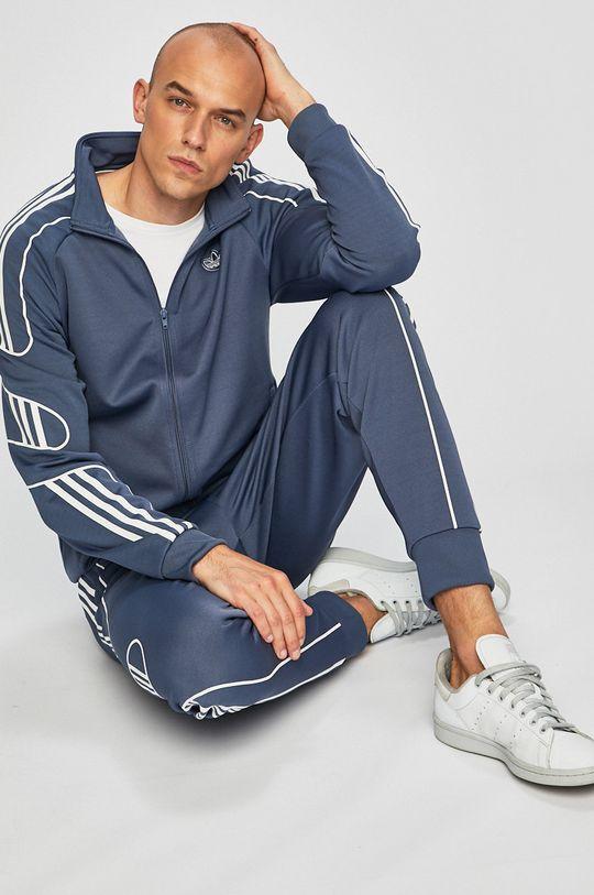 albastru metalizat adidas Originals - Pantaloni