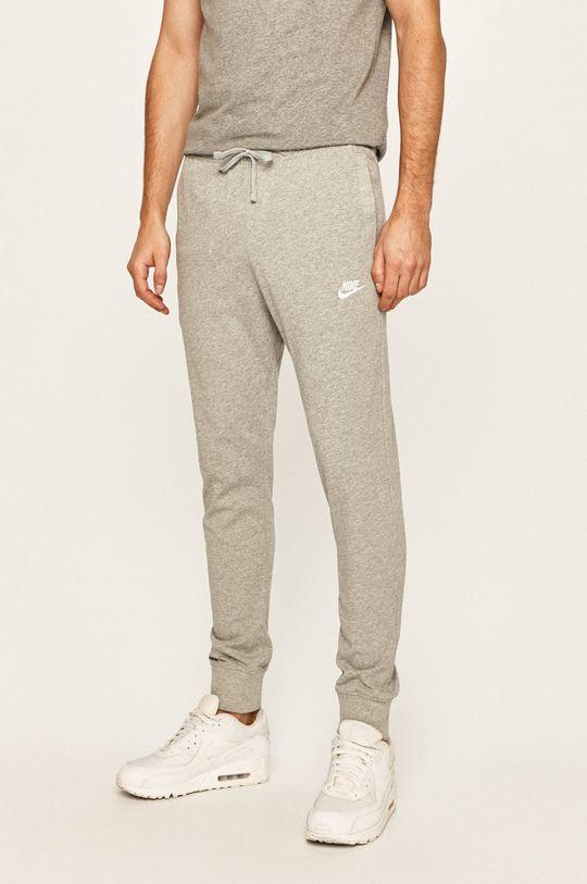 сірий Nike Sportswear - Штани Чоловічий