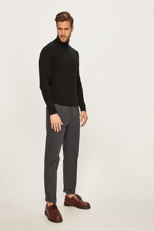 Calvin Klein - Kalhoty námořnická modř