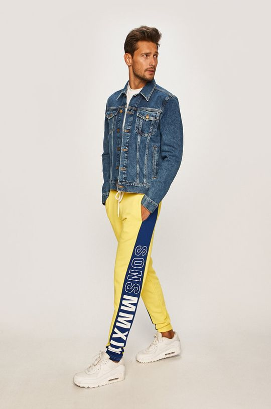 Only & Sons - Kalhoty žlutá