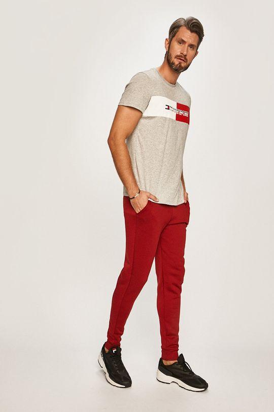 Tommy Sport - Pantaloni castan