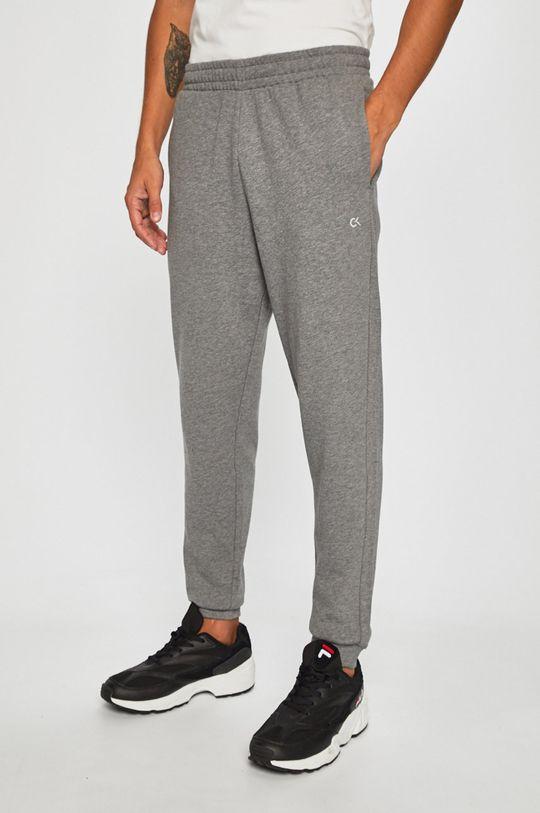 gri Calvin Klein Performance - Pantaloni De bărbați