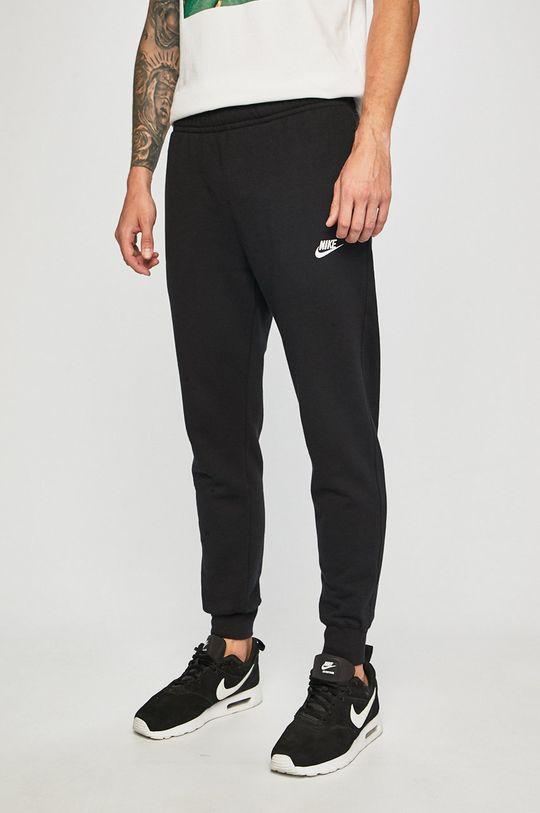 czarny Nike Sportswear - Spodnie Męski