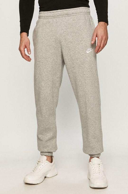 světle šedá Nike Sportswear - Kalhoty Pánský