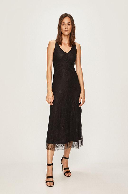 czarny Desigual - Sukienka Damski
