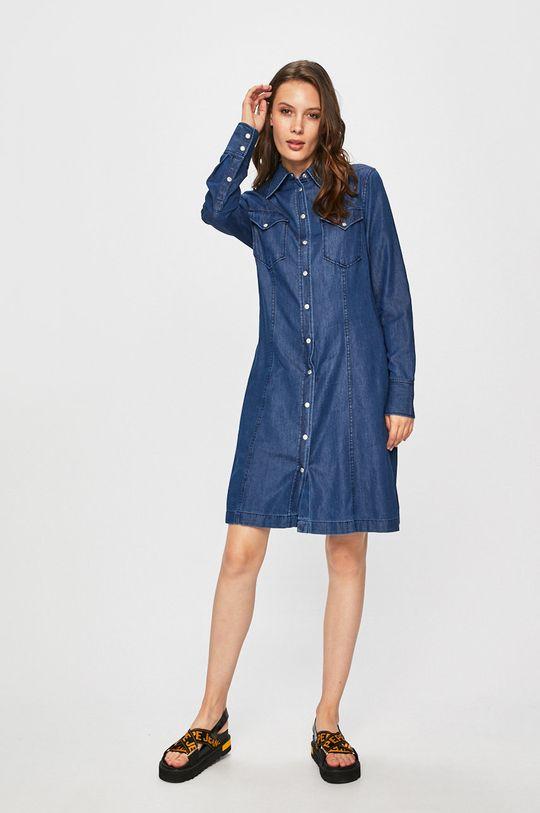 Calvin Klein Jeans - Rochie bleumarin