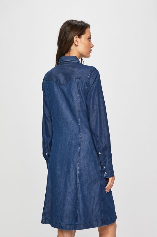Calvin Klein Jeans - Rochie 65% Bumbac, 35% Lyocell