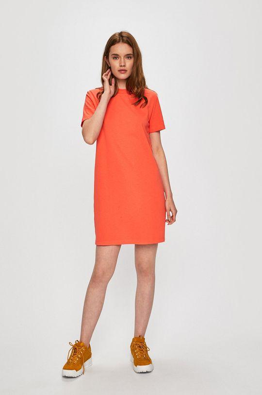 Calvin Klein Jeans - Šaty korálová