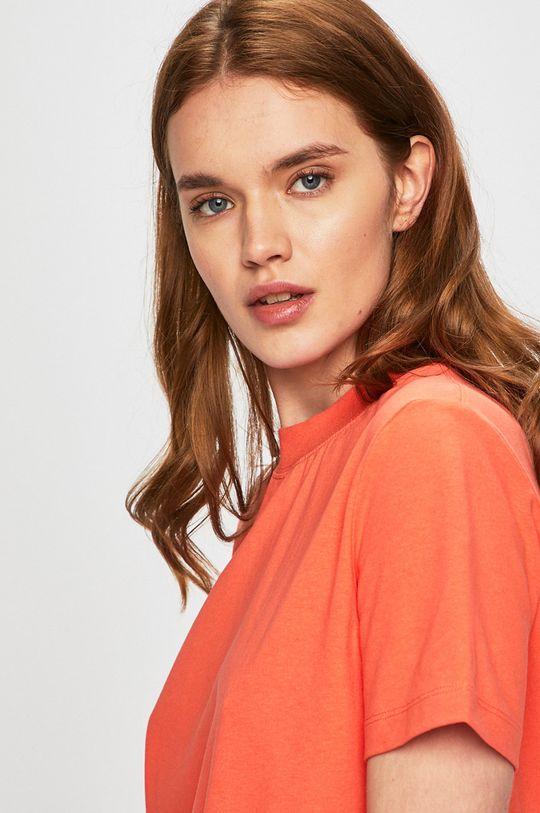 korálová Calvin Klein Jeans - Šaty