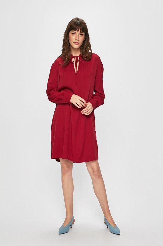 Calvin Klein - Šaty kaštanová