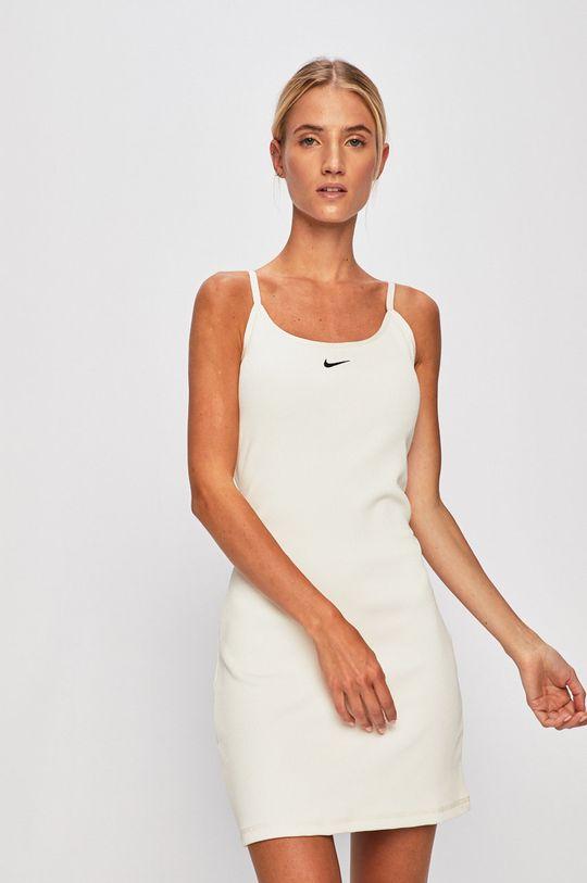 smetanová Nike Sportswear - Šaty Dámský