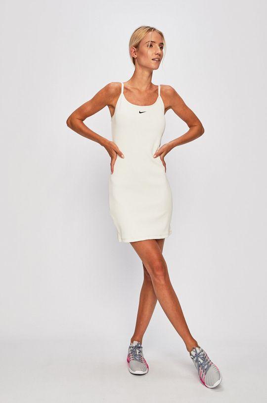 Nike Sportswear - Šaty smetanová
