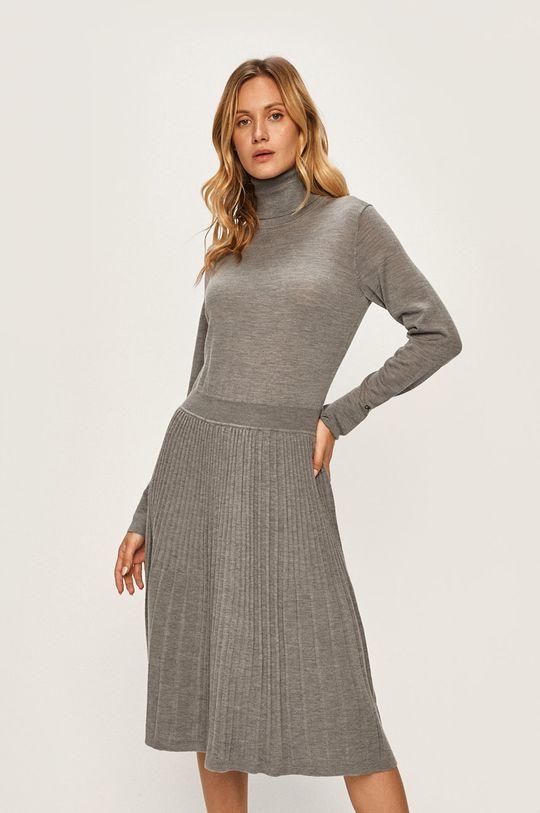 sivá Calvin Klein - Šaty Dámsky