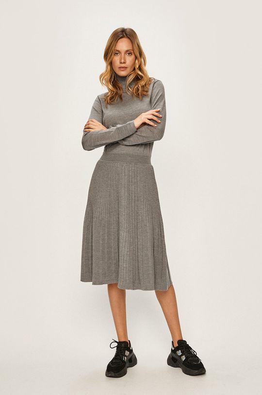Calvin Klein - Šaty sivá