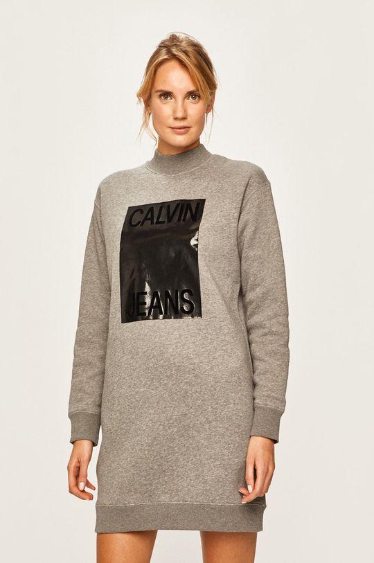 gri Calvin Klein Jeans - Rochie De femei