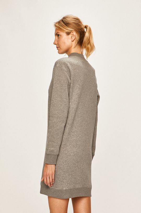 Calvin Klein Jeans - Rochie 66% Bumbac, 34% Poliester