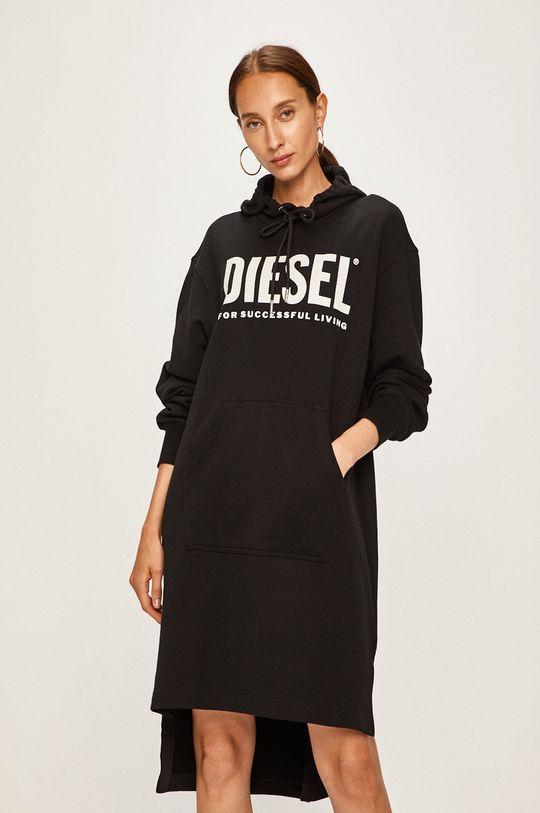 černá Diesel - Šaty Dámský