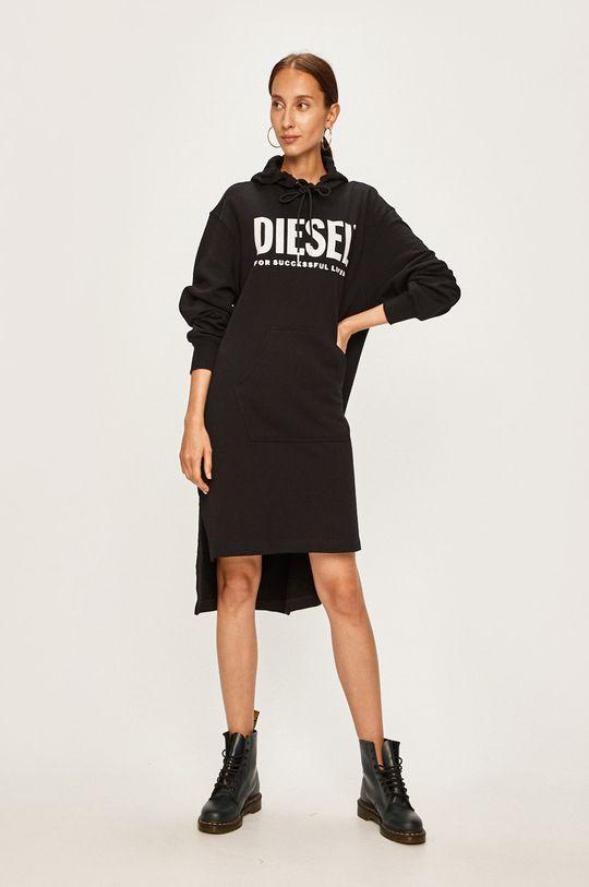 Diesel - Šaty černá