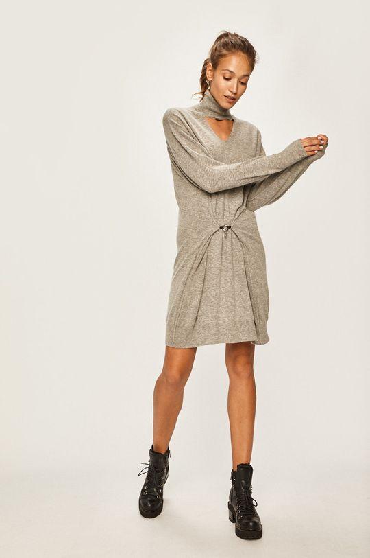 Diesel - Šaty sivá