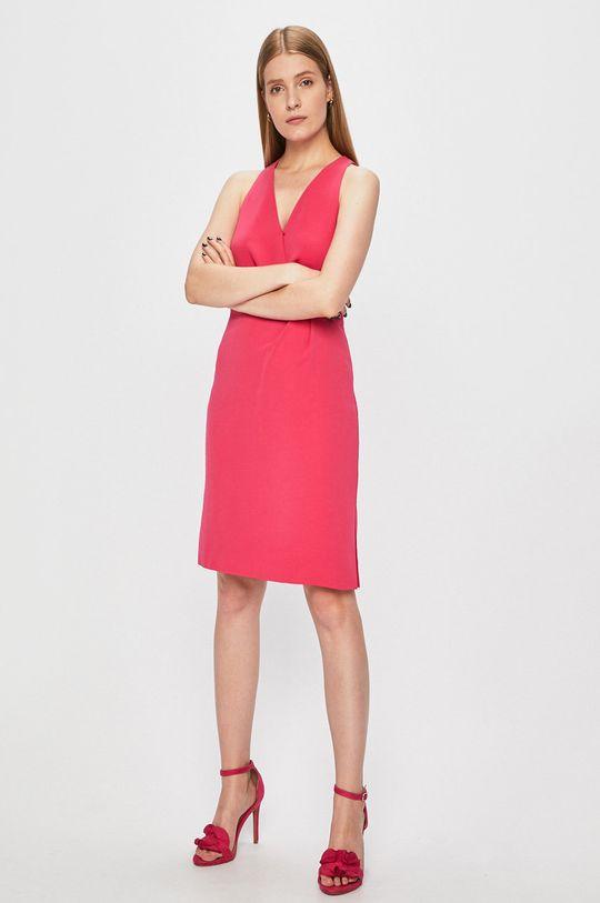 Morgan - Sukienka czerwony róż