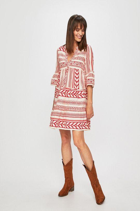 Vero Moda - Sukienka czerwony