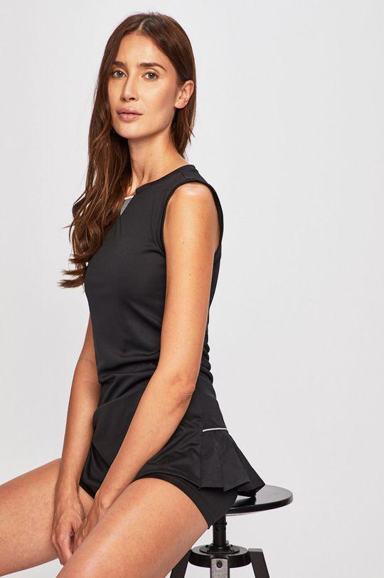 černá adidas Performance - Šaty + szorty