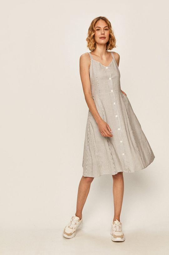 Calvin Klein Jeans - Šaty bílá