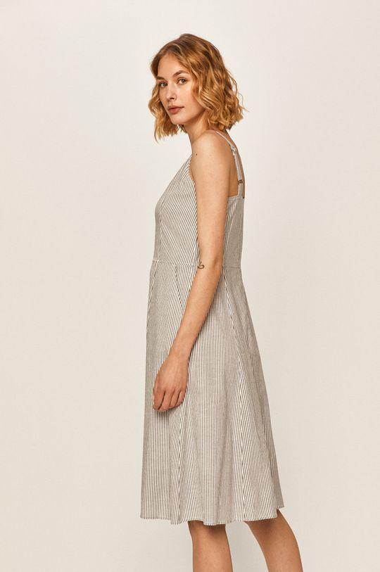 Calvin Klein Jeans - Šaty Podšívka: 100% Viskóza Hlavní materiál: 100% Bavlna