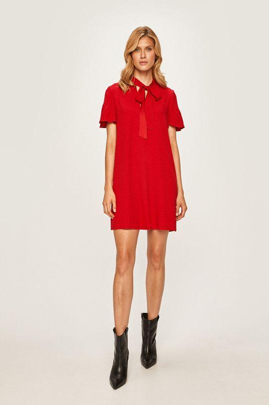 Red Valentino - Šaty  74% Acetát, 26% Viskóza
