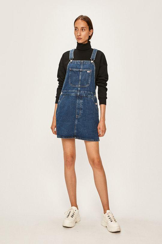 modrá Tommy Jeans - Šaty Dámsky