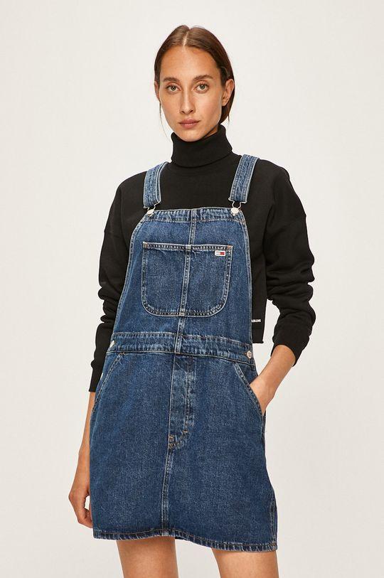 Tommy Jeans - Šaty modrá