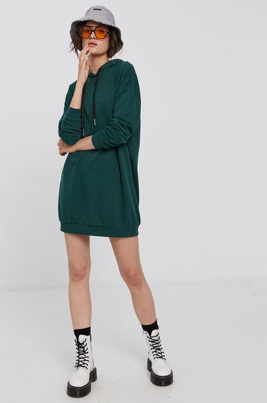 Noisy May - Sukienka stalowy zielony