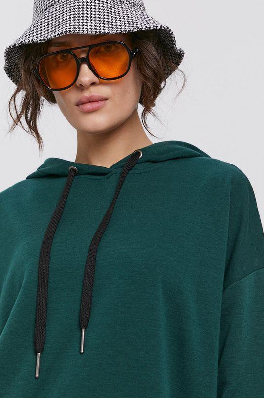 stalowy zielony Noisy May - Sukienka