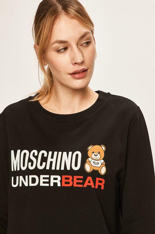 Moschino Underwear - Bluza pijama 95% Bumbac, 5% Elastan