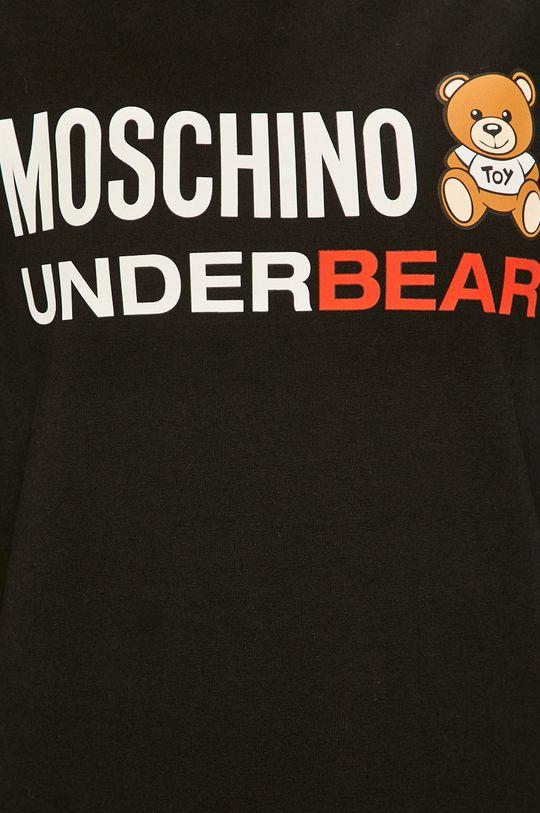 negru Moschino Underwear - Bluza pijama