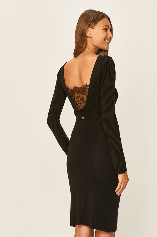 Twinset - Rochie Material 1: 50% Bumbac, 50% Modal Material 2: 100% Poliamidă