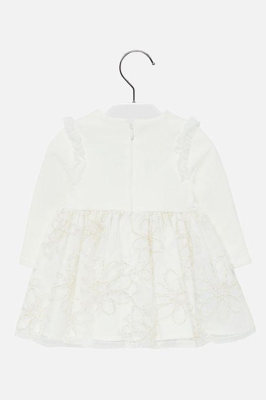 Mayoral - Dívčí šaty 68-98 cm smetanová