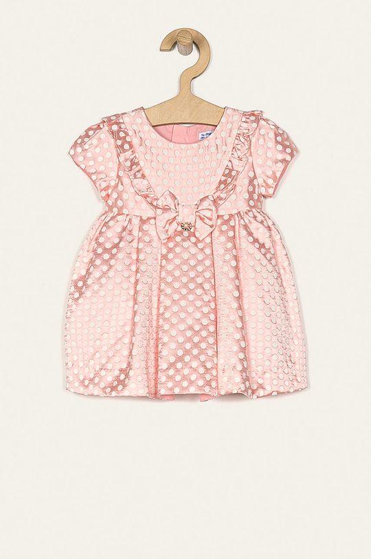 розов Mayoral - Детска рокля 74-98 cm Момиче