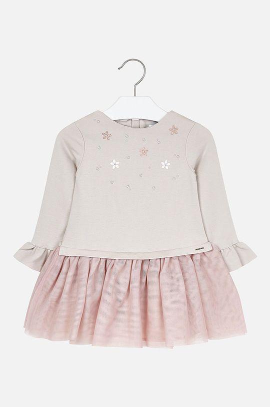 telová Mayoral - Dievčenské šaty 92 - 134 cm Dievčenský