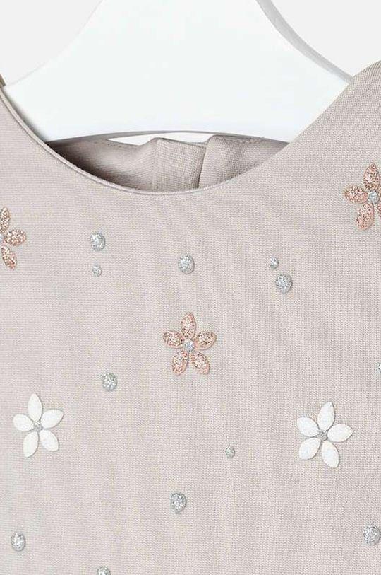 Mayoral - Dievčenské šaty 92 - 134 cm  Podšívka: 35% Bavlna, 65% Polyester Základná látka: 3% Elastan, 22% Polyamid, 25% Polyester, 50% Viskóza