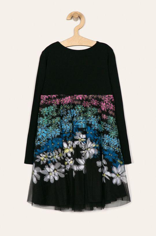 Desigual - Детска рокля 104-164 cm черен
