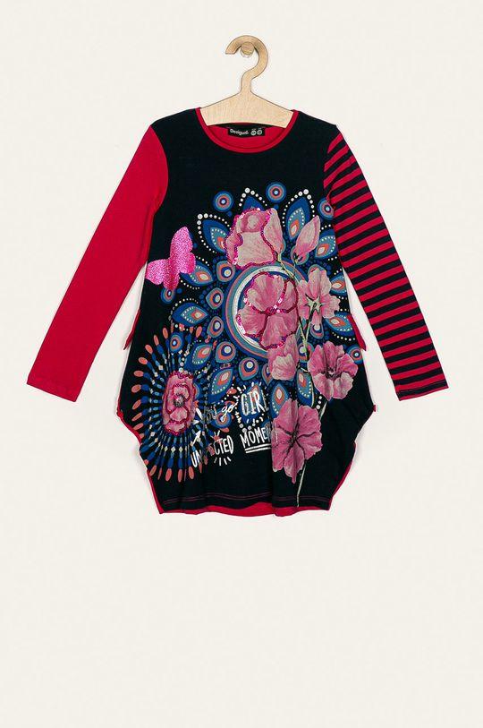 tmavomodrá Desigual - Dievčenské šaty 116-164 cm Dievčenský
