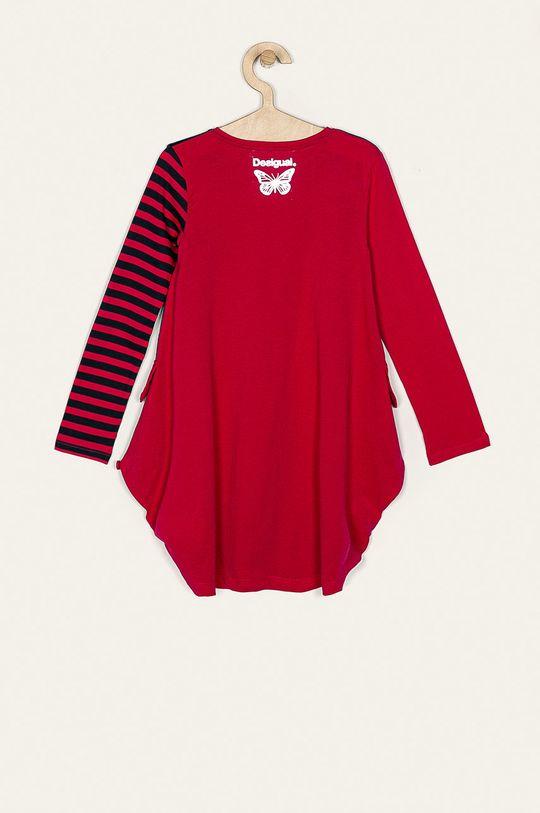 Desigual - Dievčenské šaty 116-164 cm  100% Bavlna Pokyny na ošetrovanie :  prať v pračke pri teplote 30 stupňov, sušiť vrozvesené, nesmie sa bieliť, žehliť pri nízkej teplote, Nesmie sa čistiť chemicky
