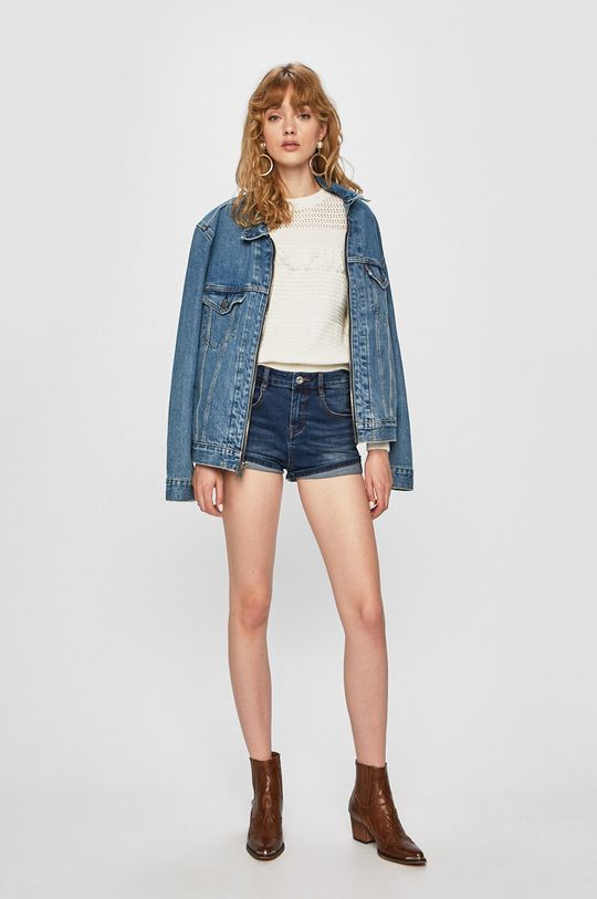 Pepe Jeans - Pulover alb