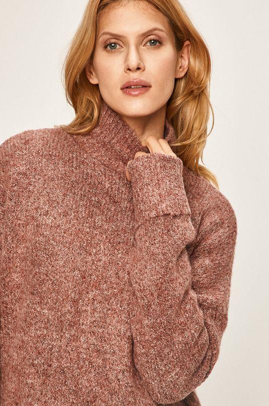 brązowy Vero Moda - Sweter
