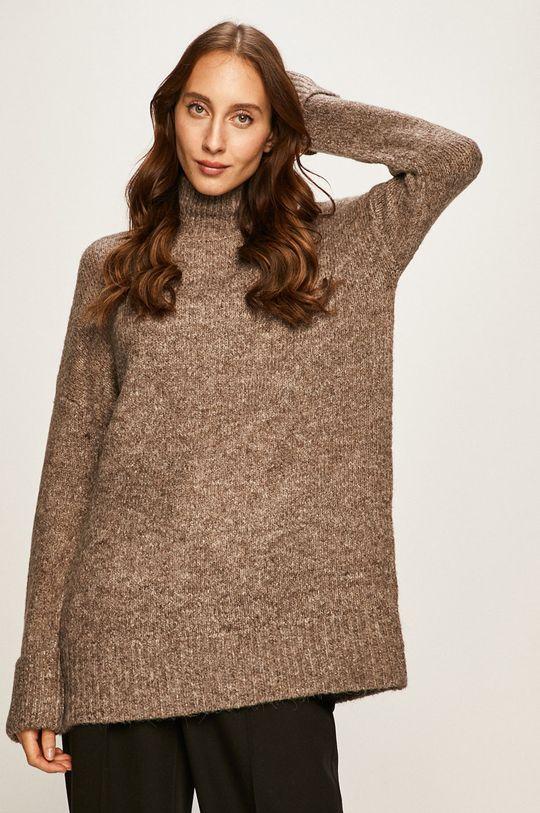 szary Vero Moda - Sweter